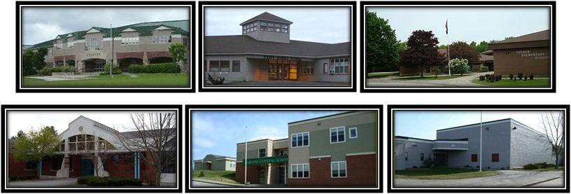 MSAD 52 Schools Collage